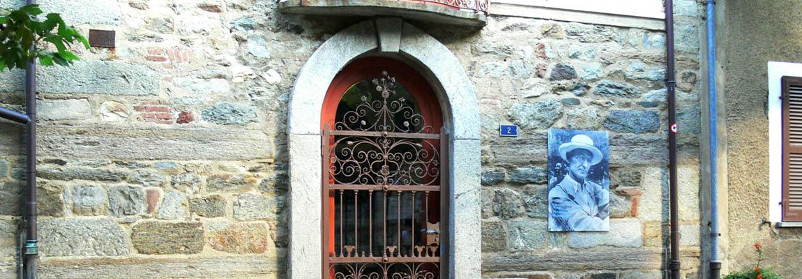 H. Hesse háza Luganoban